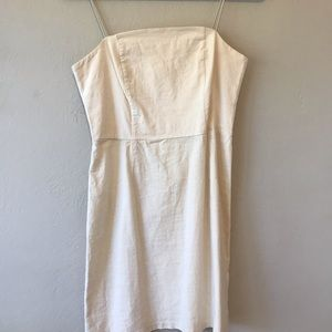 Simple White Urban Outfitters Dress